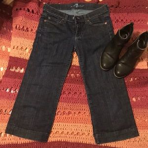 Cropped 7 For all mankind Jeans